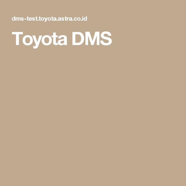 Toyota DMS