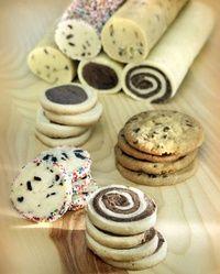 masa de galletas congelada en rollos, para sacar cuando se necesite, cortar y hornear ¡perfecto para invitados sorpresa! | https://lomejordelaweb.es/