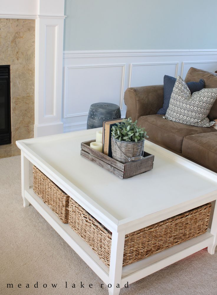 Best 25+ Wicker coffee table ideas on Pinterest Couch ottoman - living room table decor