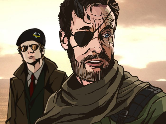 Boss... where do you think we are? #MGSV x #Scrubs