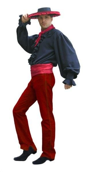 Фотографии испанского костюма для мужчины