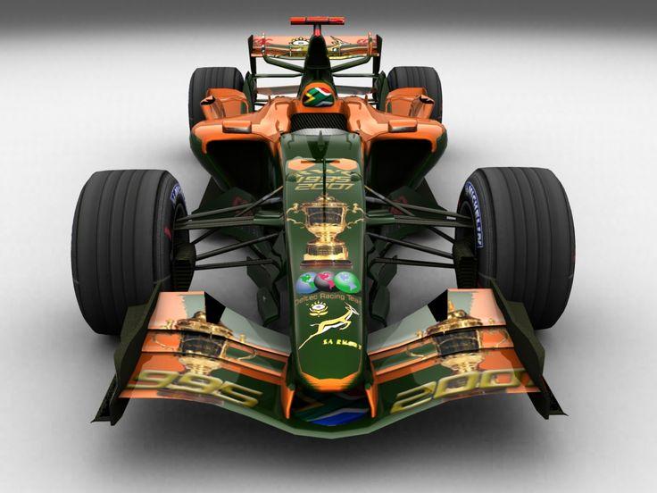 Deltec Racing Team F1 Car.