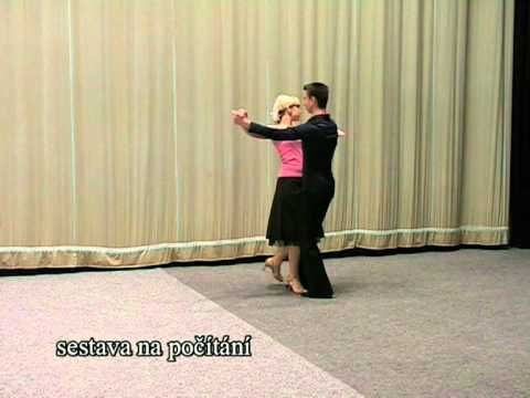 Základní taneční - Tango.mpg - YouTube