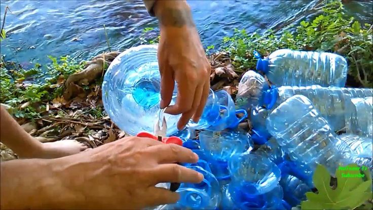 How To Make Fish Traps With Plastic Bottles For Making Aquaponic Systems...