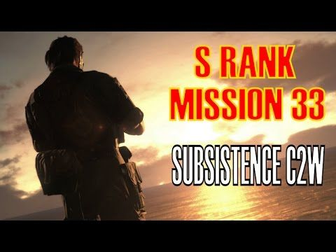 Metal Gear Solid 5 The Phantom Pain Mission 33 S Rank Perfect Stealth