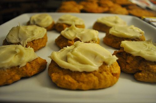 Pumpkin cookies...perfect!