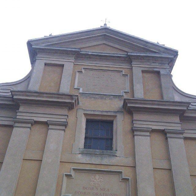 Chiesa di San Pietro, Vho di Piadena (Cremona)  Le #invasionidigitali sono anche riscoperta di luoghi cosí familiari, in modo che diventino non solo casa di ricordi ma anche cultura.