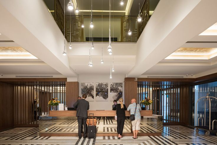 The reception area at Electra Metropolis Athens!