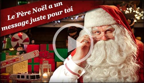 PNP - Père Noël Portable - Message vidéo personnalisé