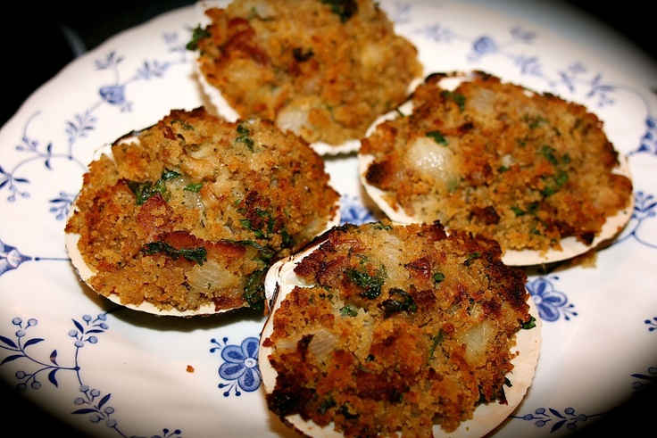 Bacon Stuffed Clams..I will be misusing the bacon. Can't wait to make them!
