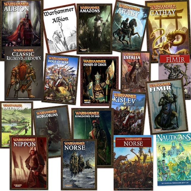 FREE Warhammer Army PDFs (unofficial, fan-made books