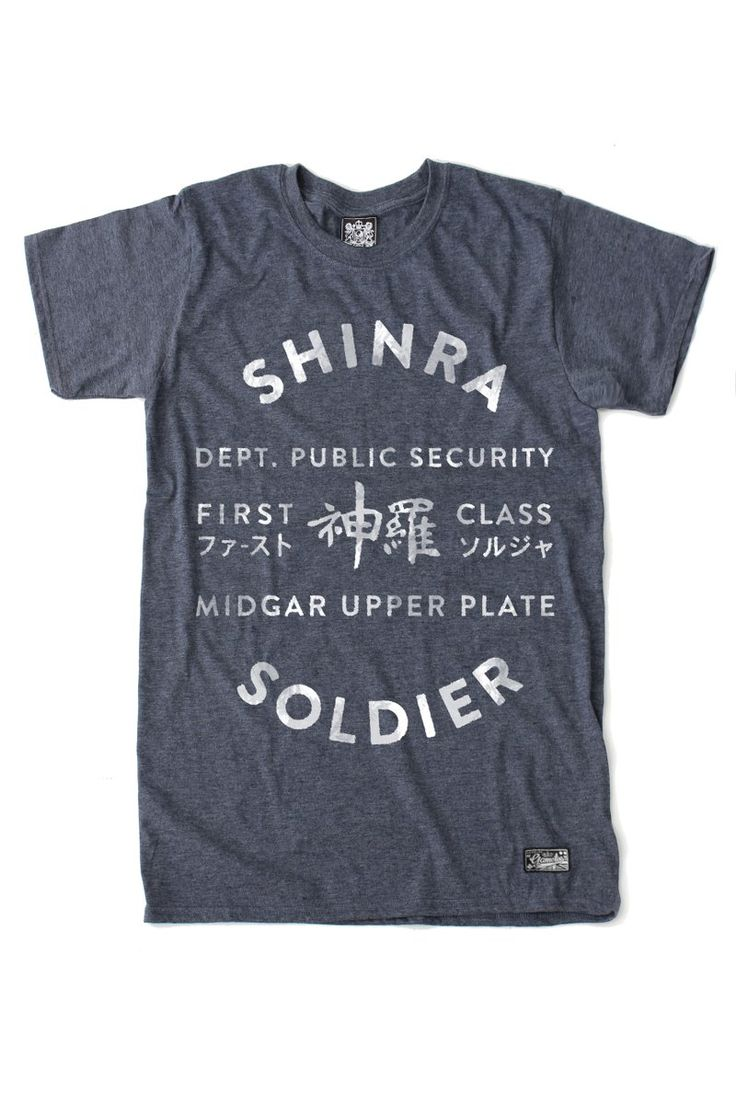 Black keys t shirt etsy - Soldier T Shirt Welcome Recruit To The Shin Ra Electric Power