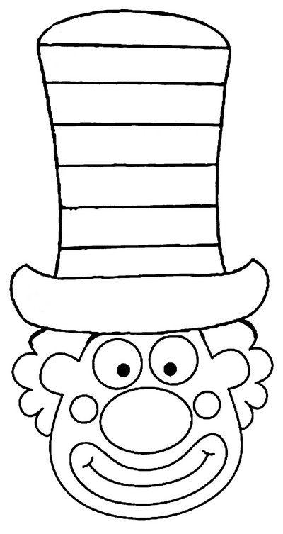 * Verschillende oefeningen: iedere strook een andere kleur, zonnetjes-strepen-sterren-circels-vierkantjes enz. vbs oefeningen. * Verschillende technieken gebruiken om de hoed te versieren, wasco, papier, propjes enz! * Op A3 afdrukken of op een groot verfvel tekenen!