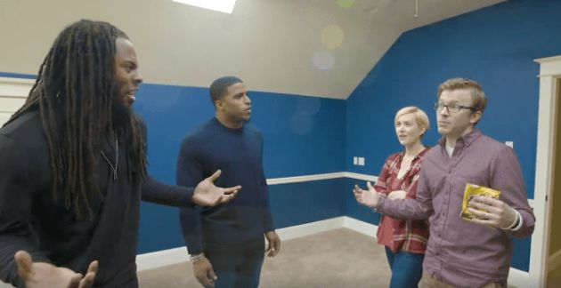 Take it to the house: Two Seahawks play real estate pros for Zillow taunt 49ers fans on home tour
