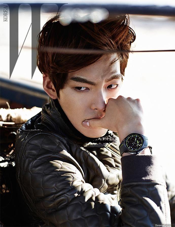 Kim Woo Bin ABS   Kim Woo Bin для W Magazine March 2014