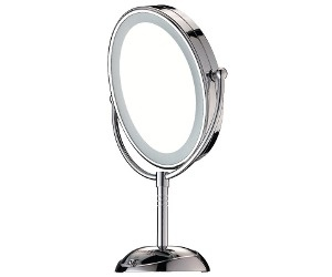 Conair lighted mirror $20 at Walmart.com. Perfect for my diy makeup station.