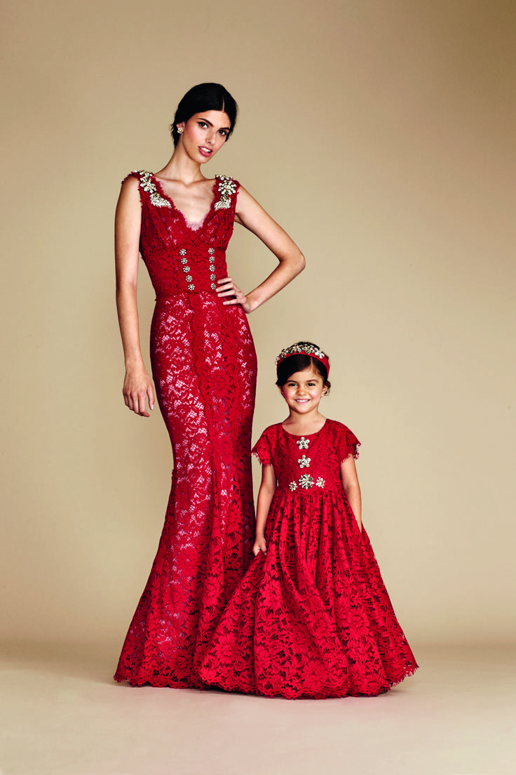 Dolce&Gabbana presents a special evening capsule collection for girls from all over the world making every girls' dream of feeling like a princess in an enchanted fairytale come true. This collection allows the possibility for mothers and daughters alike to live the dream together wearing matching gowns. Discover the collection in selected Dolce&Gabbana boutiques. #dgmamma #dgbambino #dgfamily
