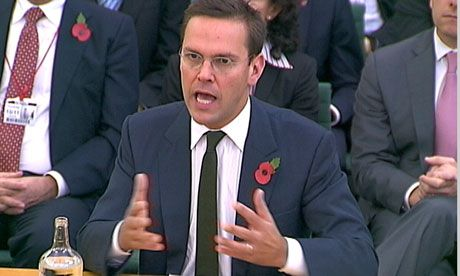 James Murdoch's ignominious exit from News International