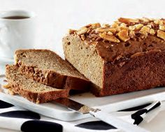 Coffee Toffee Banana Bread LCBO food and drink recipe. One of my favourite recipes.