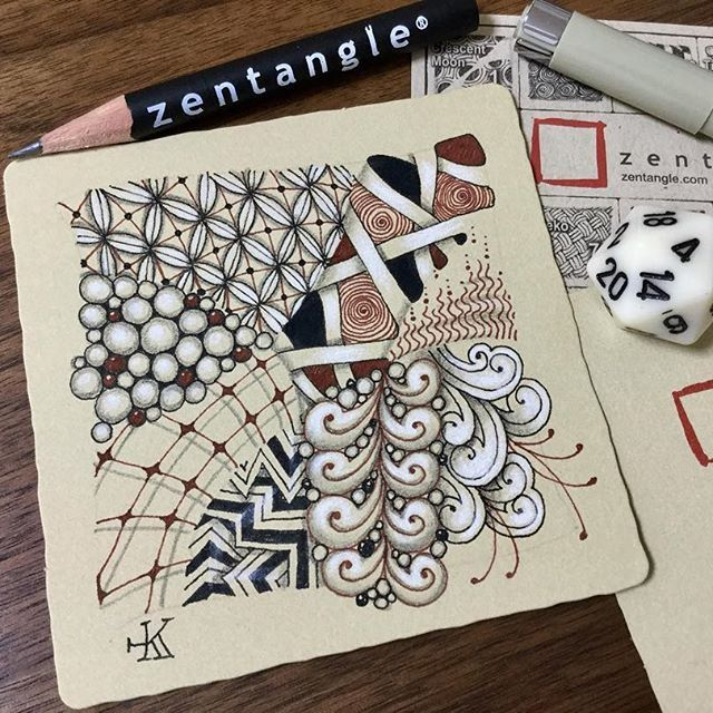 Have a board with different patterns that are numbered. Everyone gets a dice and they roll and do the corresponding pattern for practice.