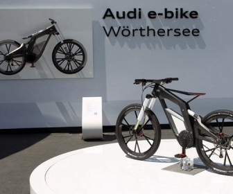 Audi e-bike WÖrthersee showcased at the WÖrthersee Tour in Austria