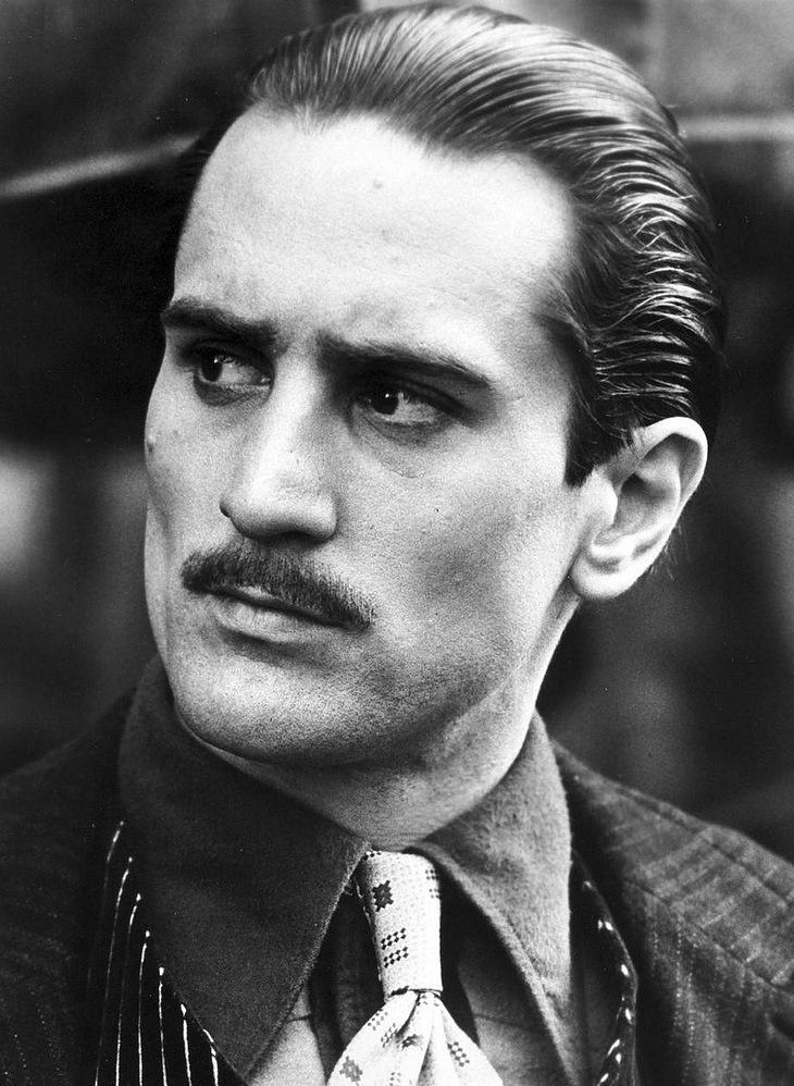 Robert De Niro (The Godfather), 1974.
