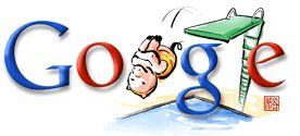Google Logo - Summer Olympic Games Doodle, Beijing - August, 2008
