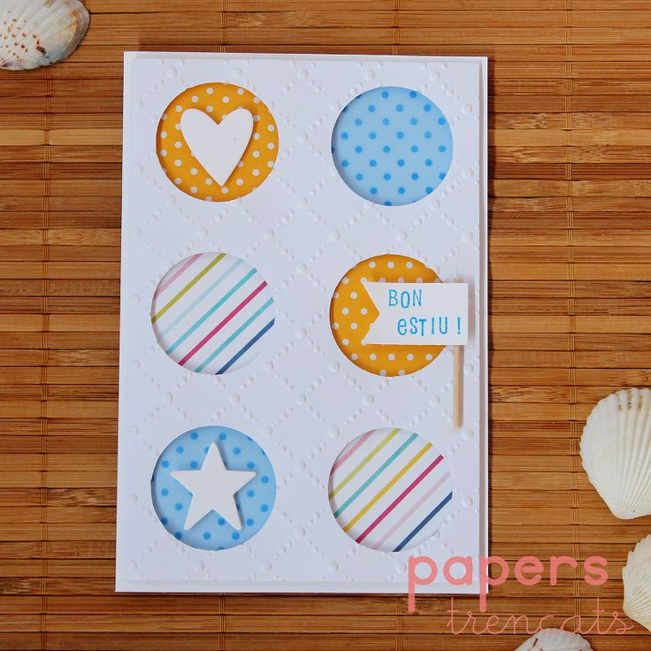 Summer card by Papers Trencats