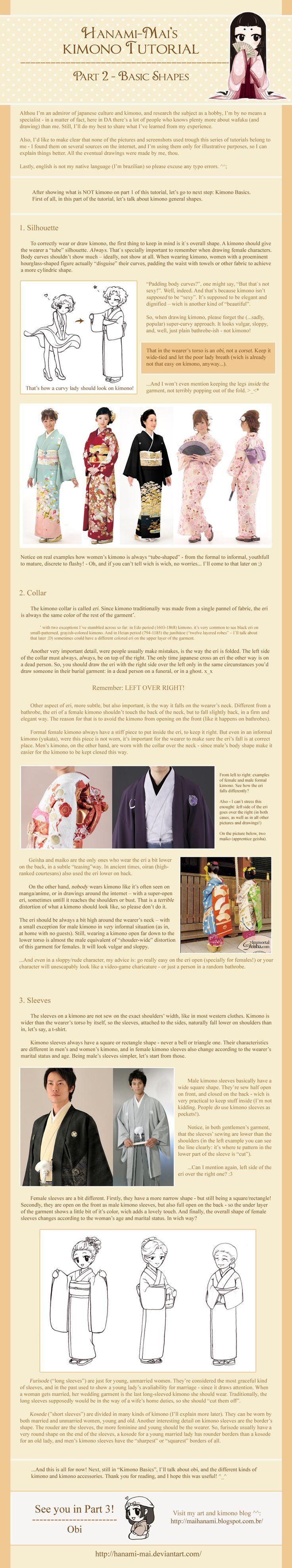 Kimono Tutorial - Part 02 by Hanami-Mai.deviantart.com on @deviantART