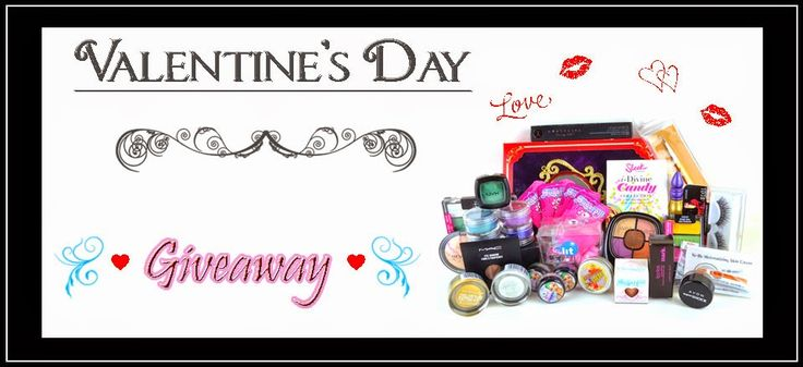 The Crow and the Powderpuff | A Creative Makeup & Beauty Blog: Valentine's Day Giveaway - 2015