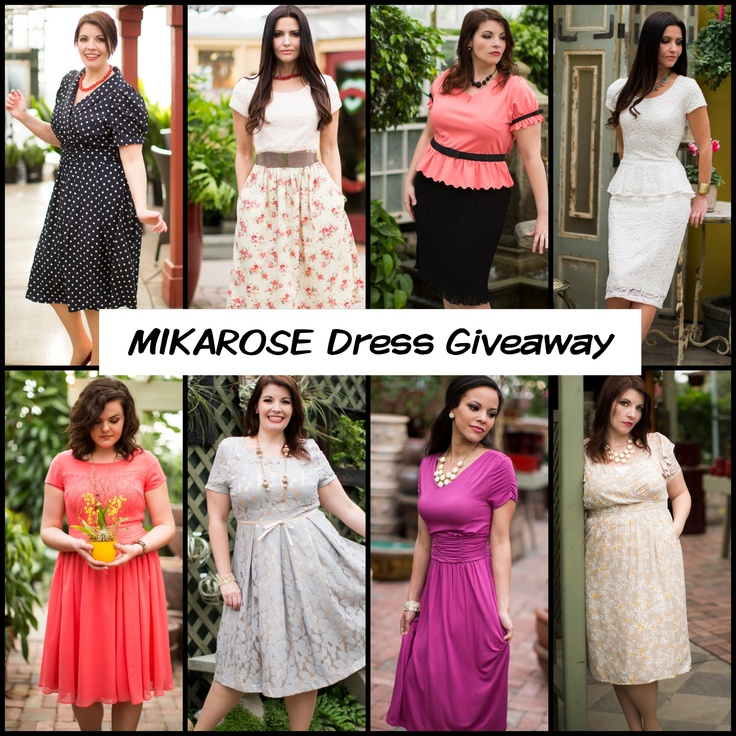 MIKAROSE Dress Giveaway!         1. Repin this image      2. Comment here what your favorite Dress from MIKAROSE is.        Ends Friday 9 AM MST. Winner will be announced via the Blog!    Winner will receive ANY Dress of their choice :)