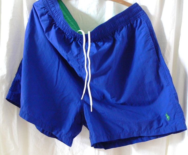 Men's Polo by Ralph Lauren Pony Swim Shorts Trunks Sz XXL 2XL #PoloRalphLauren #SwimShortstrunks