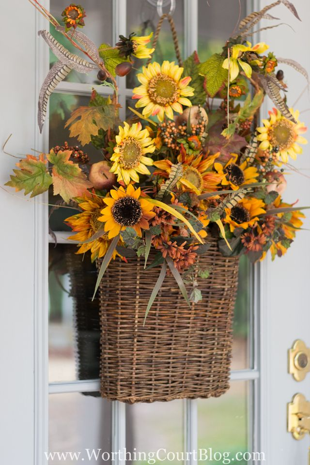 No Stress Easy Fall Decorating Tips - Worthing Court
