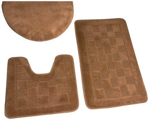 Best Bathroom Rug Sets Ideas On Pinterest Skull Decor - 3 piece bath rug set clearance for bathroom decorating ideas