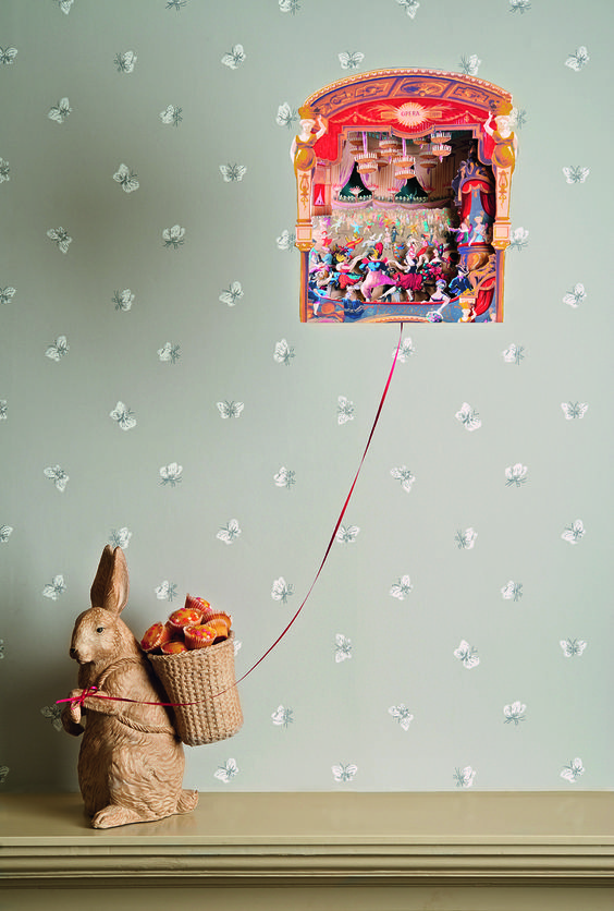 Cute #butterfly #wallpaper by Cole & Sons