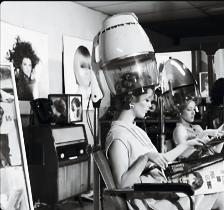 Vintage Hair Salons Salon Roller Set Beauty Shop Big Secrets Barbers