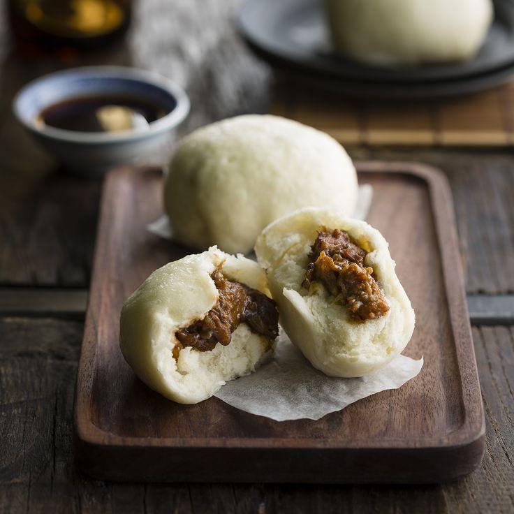 "Thermomix   Char siu bao pork buns   Entertaining with Dani Valent cookbook + recipe chip   ""Chinese"" menu plan  "