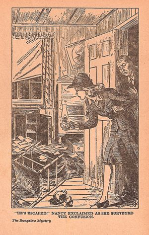 Nancy Drew #37 THE CLUE IN THE OLD STAGECOACH 1961B-5 hcdj Carolyn Keene