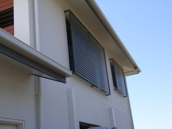 Window & privacy screens add style & privacy to your home while still letting in natural light & fresh air.