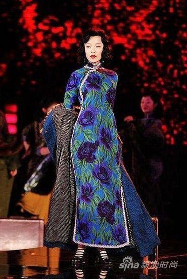 旗袍绝代风情 - 倪妮