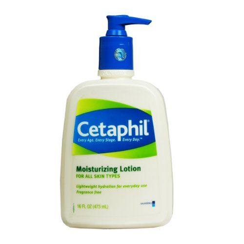 Cetaphil Fragrance Free Moisturizing Lotion, 16-Ounce Bottles (Pack of 2)