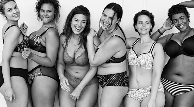 9 kampagner med kvinder i undertøj, der vil få dig til at elske din krop