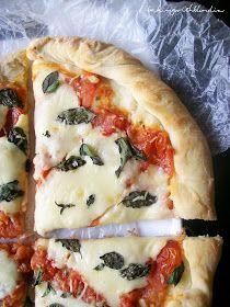 Roasted Tomato Basil Pizza