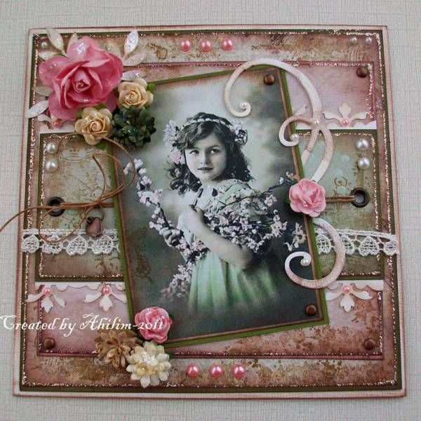 Pin by DelMar Designs on Vintage Girl Cards | Pinterest ...