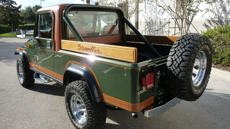 1983 Jeep CJ-8 Scrambler presented as Lot W179 at Kissimmee, FL