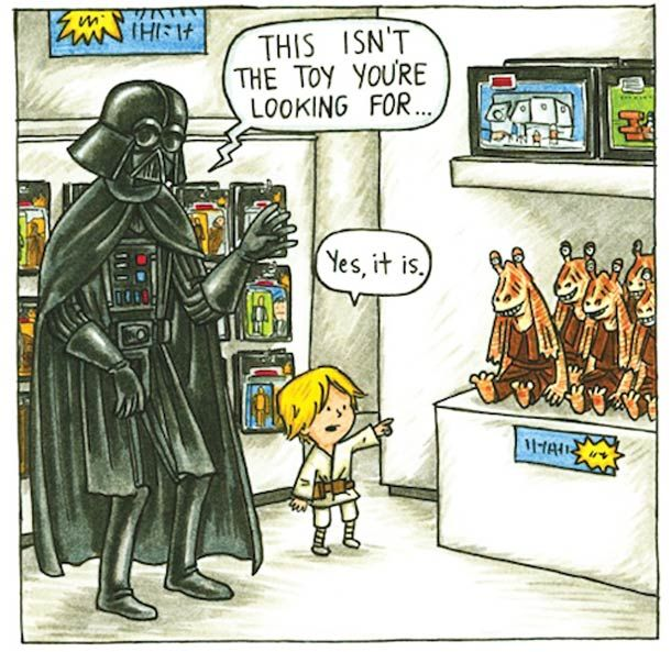 Jeffrey Brown - Darth Vader and son (http://www.chroniclebooks.com/landing-pages/darthvaderandson/)