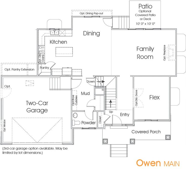 Owen utah floor plan edge homes new house ideas for House plans in utah