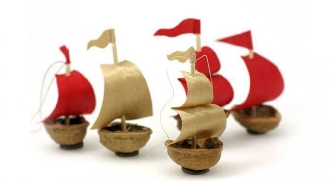Кораблики своими руками