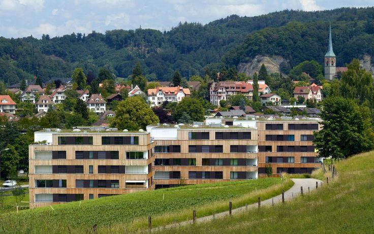 Neubau Wohnüberbauung Bernstrasse Areal B - Burckhardt+Partner