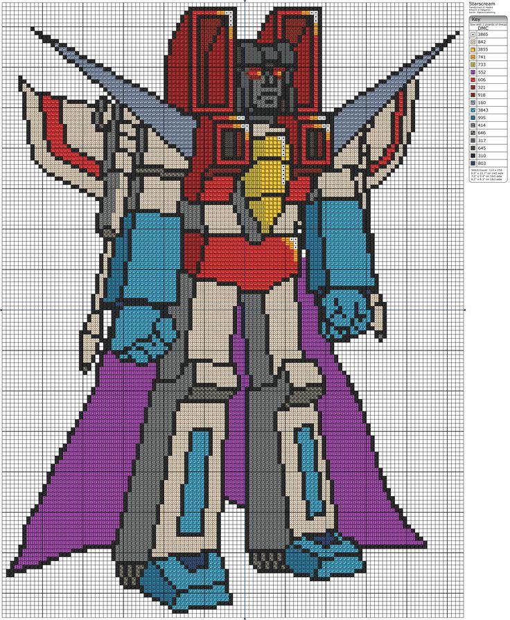 Transformers - Starscream by Makibird-Stitching.deviantart.com on @deviantART